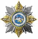 Нагрудный знак «Зірка подяки Національної Поліції»