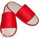 Тапочки «Сауна» (красные)