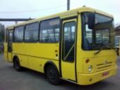 Лобовое стекло для автобуса БАЗ  Еталон А-074 Днепропетровск, Никополь