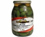 Зеленые оливки Bella Contadina
