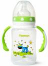 Бутылочка детская для кормления Fissman Babies «Ослик на лужайке» 240мл с ручками
