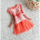 Платье красное детское 7198