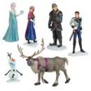 Игровой набор фигурок Холодное сердце. дисней ,disney.Frozen. Анна, Эльза, Олаф,Ганс, Кристоф, Свен.