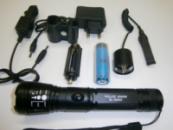 Светодиодный подсвольный фонарь BL - 9840 на 8000 W с лазерной указкой