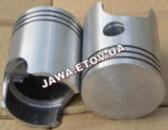 Поршни + кольца Ява 638, 12 вольт, 10 ремонт (60,50 мм) Альмет