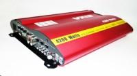 Автомобильный усилитель звука VX12 MRV-F905 + USB 4200Вт 4х канальный