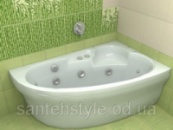 Акриловая ванна Koller Pool Liona 1500х950х450 (Правая)