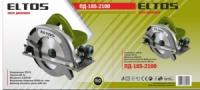 дисковая пила ELTOS185-2100