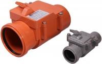 Обратный клапан внутренняя канализация d 110 ИнтерПласт