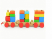 Конструктор «Паровозик», Мир деревянных игрушек (Д018)