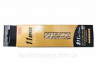 Цепь 11 ск. 118зв. Gold YBN S11 с замком