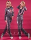 Костюм Adidas «Вышивка» расцветки,скл№ 10 42 Черный