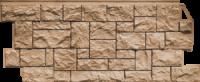 Облицовочная панель Fineber Дикий камень Цвет Терракот