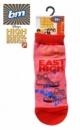 Носки детские красные с розовым Дисней, бренд «B&M for Disney» (Англия)