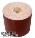 Шкурка шлифовальная на тканевой основе Р 40 200 мм*50 м MasterTool 08-2704