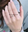 Кольцо «Мира» под золото