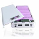 Корпус Power Bank 8x18650 (2 usb порта + Фонарик)