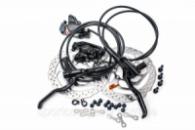 Тормоз дисковый гидравл. 160/160 SHIMANO BR-MT200 F850/R1450 с ротором « (ED)