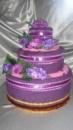 Торт из полотенец « Ветка сирени»
