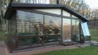 Консервация прозрачными мягкими окнами беседок, террас, вольеров, веранд. Киев