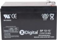 Аккумулятор к UPS 12V 12Ah X-DIGITAL SP12-12.