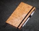 Блокнот с черной бумагой Бамбук стандарт