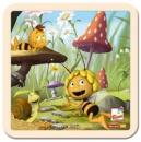 Пазл «Пчела Майя с грибочками», Bino (13624)