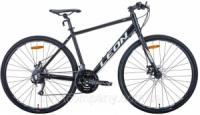 Велосипед 28« Leon HD-80 2020 (черно-белый (м))