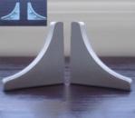 Заглушка на плинтус алюминиевый Н-30