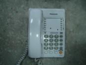 Проводной телефон Panasonic KX-TS2363RUW с функцией громкой связи