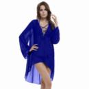 Туника свободного кроя KLARA&KARL free size Синий (KNV 6141 free size blue)