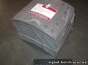 Накладка торм. (компл. на ось) 420х150 станд. DAF 65/75CF,F85CF,SB,XF95