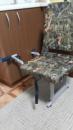 Комплект - Кресло и складная опора для лодки ПВХ
