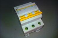 Автоматический выключатель 3р 63А ИЕК ВА47-29