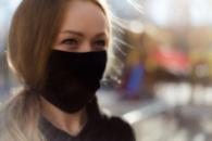 Тканевая многоразовая маска Paracels 100% хлопок Черная (00006)