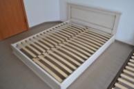 Ліжко деревяне дубове Еліт Білий 160*200