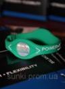 Энергетические браслеты для спортсменов Power Balance зеленые XS