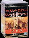 Чай Тарлтон Супер ОПА черный 250 г Tarlton OPA железная банка