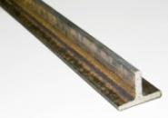 Алюминиевый тавр 50х70х2,5 мм сталь АД31 длина 6 м.