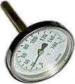 Термометр биметаллический ТБ (0+120)С