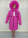 Зимняя куртка для девочки «Мода» малина
