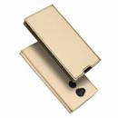 Чехол-книжка Dux Ducis с карманом для визиток для Sony Xperia XA2 Золотой