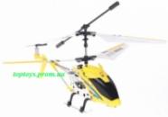 Вертолёт на радиоуправлении, металлический каркас, длина 19см, свет, USB-зарядка, в боксе