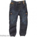 Джинсы George UK Baby Toddler Boy Corduroy Trim Cinched Hem Jeans