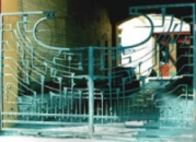 Кованые ворота. Киев, Набережно-Крещатицкая, 25