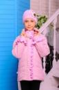 Демисезонная куртка + шапка Одри