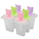 Форма для мороженого STENSON «Мишка» 6 шт 10 см (C39818)