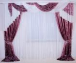 Комплект штор с ламбрекеном мод 22