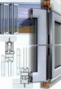 Холодные алюминиевые (складывающиеся) системы .