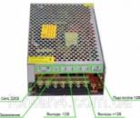 Блок питания адаптер металлический 12 В 20 А / 12V 20A кабель.